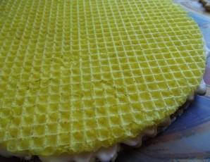 Вафельный торт без выпечки - фото шаг 4