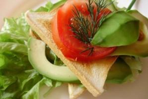 Легкие бутерброды на день рождения - фото шаг 5