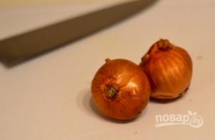 Куриная печень с грибами в сливочном соусе - фото шаг 5