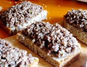Горячие бутерброды в мультиварке   - фото шаг 3