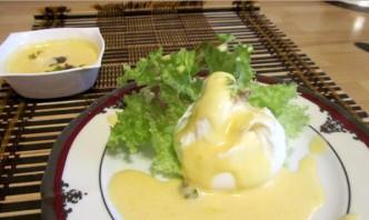 Яйца под соусом - фото шаг 3