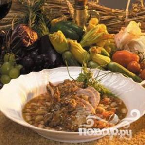 Тосканская свинина с фасолью - фото шаг 7