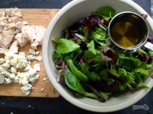 Салат с инжиром и курицей - фото шаг 4