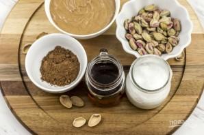 Ореховый десерт без выпечки - фото шаг 1