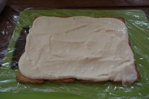 Домик из печенья - фото шаг 5