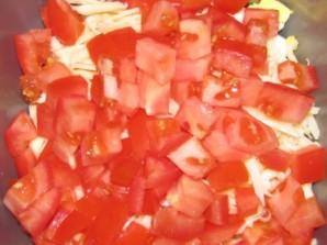Салат крабовый с сыром - фото шаг 4