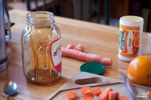 Морковный смузи - фото шаг 3
