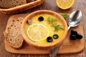 "Куриный суп ""Греческий"" - фото шаг 7"