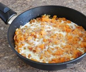 Спагетти в тыквенном соусе с беконом - фото шаг 7