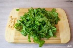 Диетический салат с пекинской капустой - фото шаг 2