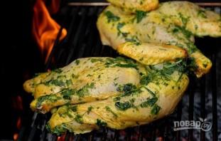 Курица, маринованная с чили и шалфеем - фото шаг 5