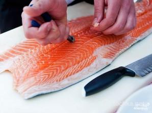 Рыба по-французски в духовке - фото шаг 1