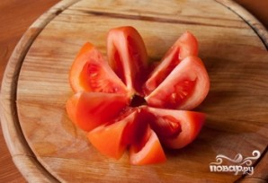 Салат из курицы и помидоров - фото шаг 2