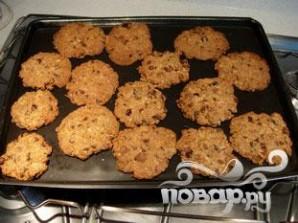 Овсяное печенье с миндалем и шоколадом - фото шаг 12