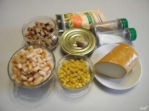 Салат со шпротами - фото шаг 1