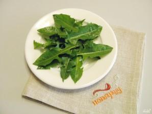 Салат из одуванчика - фото шаг 4
