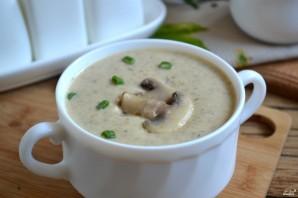 Грибной крем-суп из шампиньонов - фото шаг 7