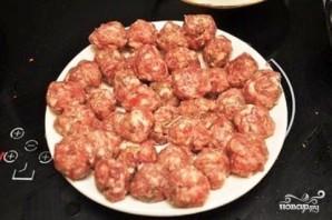 Картофельная запеканка с мясными шариками - фото шаг 9