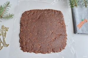 Кокосово-шоколадный рулет - фото шаг 5
