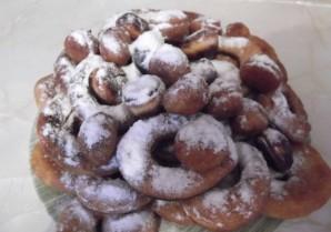 Пончики без дрожжей - фото шаг 7
