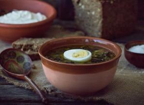 Суп из щавеля и крапивы - фото шаг 8