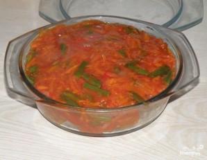 Карп, тушенный с овощами - фото шаг 7