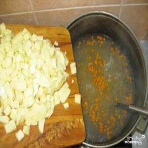 Рыбный суп с каперсами - фото шаг 2