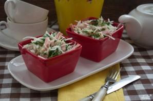 Салат из редьки - фото шаг 7