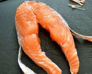 Медальоны из лосося - фото шаг 1
