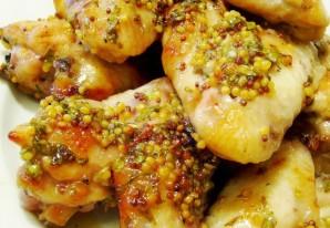 Крылышки в медово-горчичном соусе - фото шаг 7