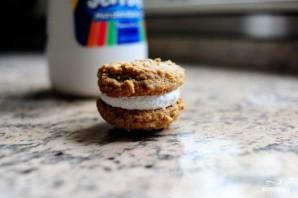 Овсяное печенье с молочным кремом - фото шаг 6