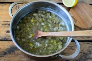 Варенье из крыжовника с лимоном на зиму - фото шаг 6