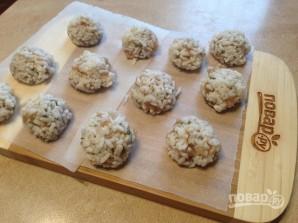 Куриные шарики в рисовой панировке - фото шаг 5