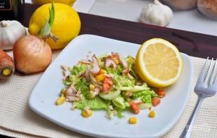 Салат с курицей и пекинской капустой - фото шаг 5