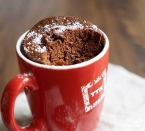Кекс в микроволновке за 5 минут - фото шаг 7