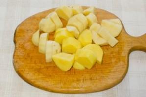 Суп-пюре с плавленым сыром - фото шаг 1