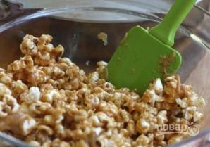 Попкорн с арахисовым маслом - фото шаг 6