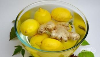 Варенье из лимонов и имбиря - фото шаг 1