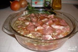 Мясо в пиве в духовке - фото шаг 2
