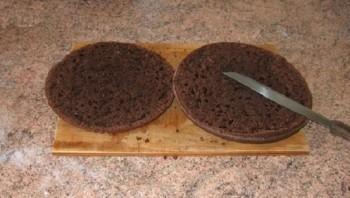 """Торт """"Цветок в горшке"""" - фото шаг 1"""