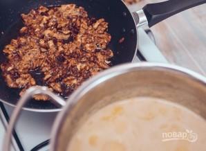 Крем-суп из тыквы с беконом - фото шаг 4