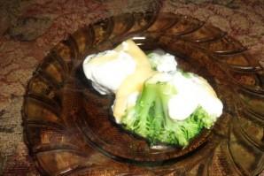 Брокколи в духовке с сыром - фото шаг 5