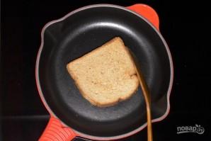 Бутерброды на шпажках - фото шаг 2