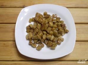 Салат из баклажанов с сыром - фото шаг 4