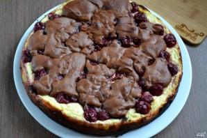 Шоколадный брауни с вишней - фото шаг 11