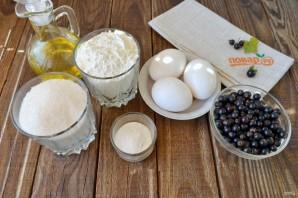 Пирог со смородиной (простой) - фото шаг 1