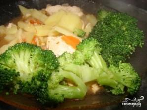 Картошка с брокколи - фото шаг 6