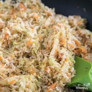 Капуста с рисом - фото шаг 9