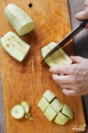 Овощной шашлык в кляре - фото шаг 4