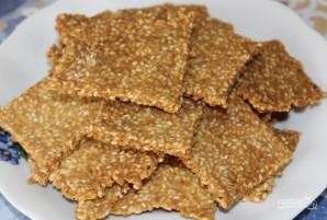 Кукурузные хлебцы с семечками - фото шаг 7
